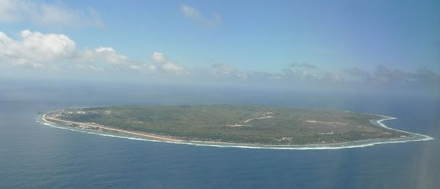 Nauru. The least-visited country in the world!
