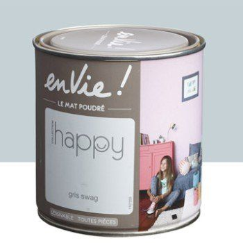 Peinture multisupports Envie Collection Happy LUXENS, gris swag, 0.5 L | Leroy Merlin ...