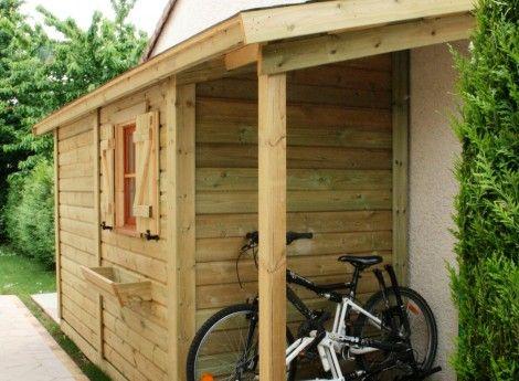 8 best images about abris vélos on Pinterest Examples, Shelters - cerisier abri de jardin