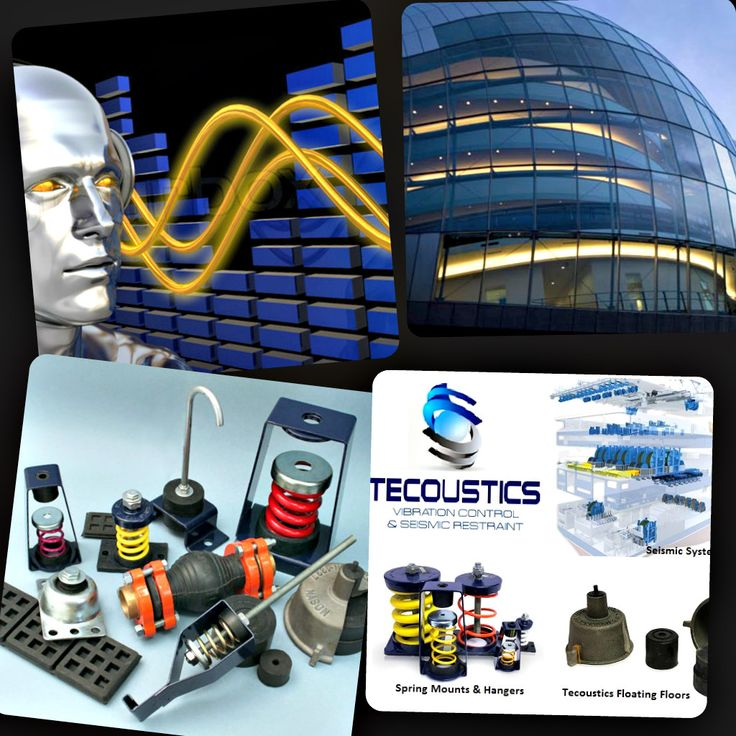 Tecoustics Ltd. main focus for turnkey solutions is the design, supply and application of Mason Industries vibration control products. #NoiseAndVibrationControl #SeismicEngineering http://bit.ly/tecoustic