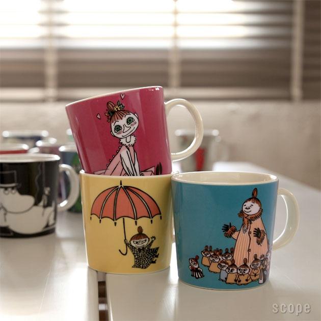 【楽天市場】Arabia (アラビア) Moomin (ムーミン) マグ ムーミン:4senses interior scope version.R