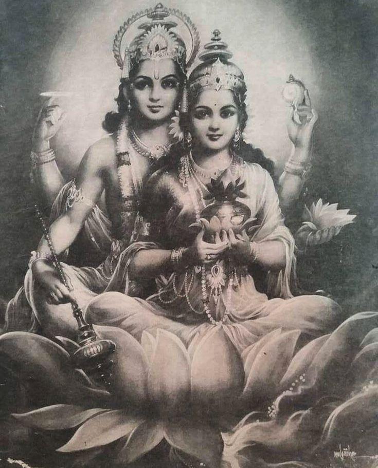Vishnu & Lakshmi