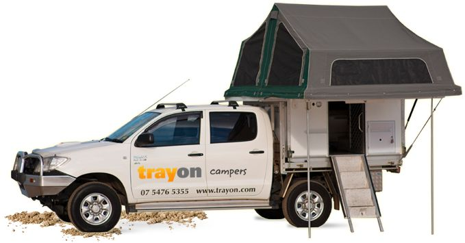 Australian Made Slide-on Campers and Camper Trailers Sunshine Coast | Trayon Campers Queensland
