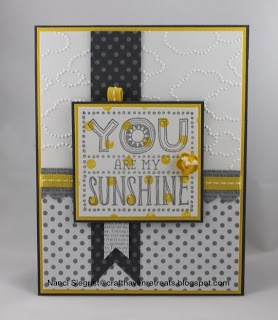 Stampin' Up! Card  by Nanci at Craft Haven Retreats: Sunshine Trio
