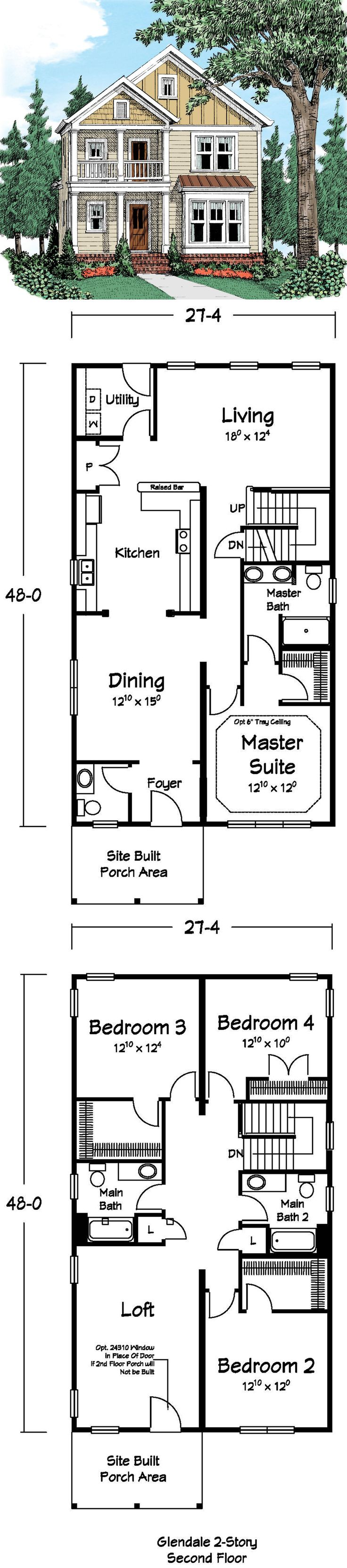 25 best loft floor plans ideas on pinterest small homes for Two story loft floor plans
