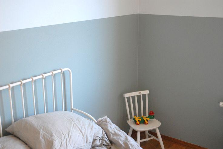 Kids room two colors #måladehem