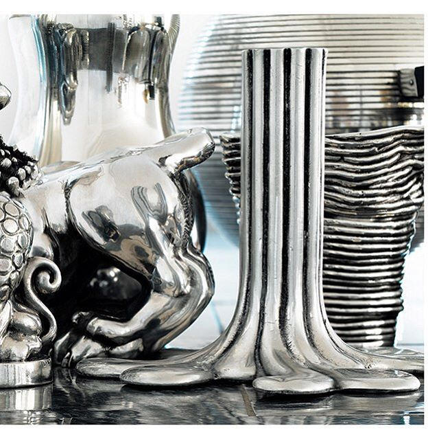 Pewter objects from Svenskt Tenn's range. #svenskttenn