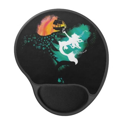 A Mermaid's Death Gel Mouse Pads
