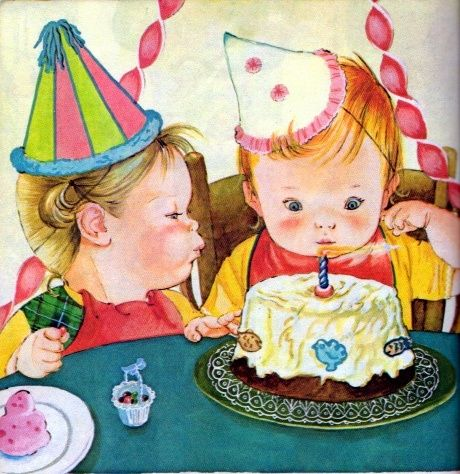 Baby's Birthday, Eloise Wilkin