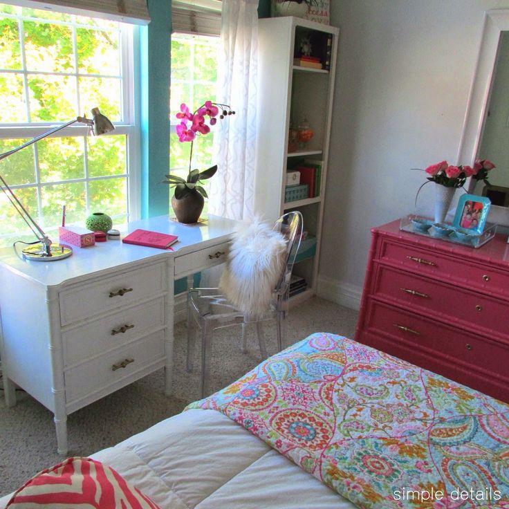 1000 ideas about modern teen room on pinterest teen bedroom decorations children bedroom - Simple teenage girl bedrooms ...