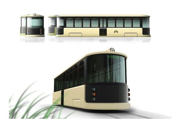 Koreawide first wireless tram!
