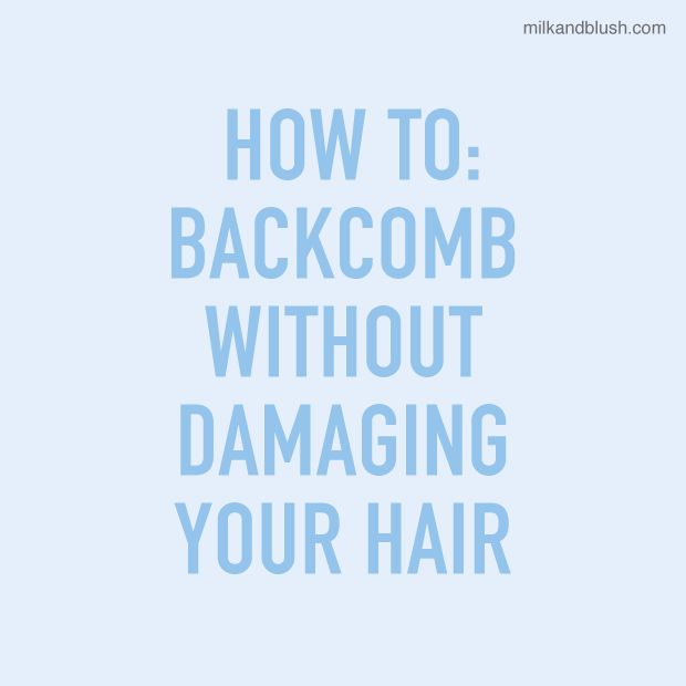 How to #Backcomb #Hair Without #Damaging It..#Healthy #Washday #Natural #Product #Pain #Tips #Tricks #Planning #Extensions #Love #LongHairProblems #Beauty