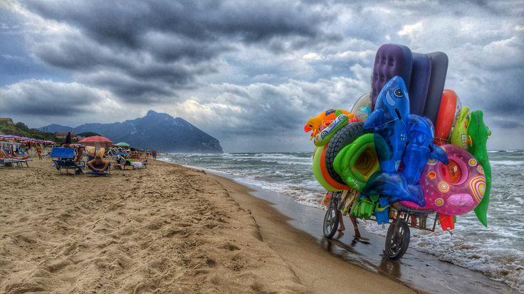 The Sabaudia beach
