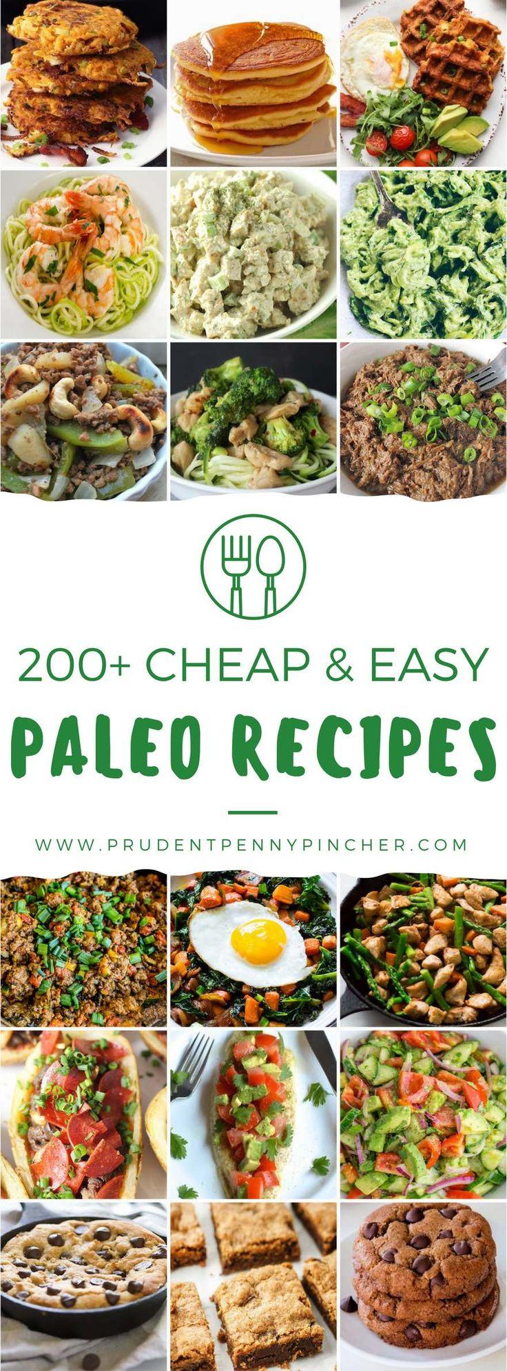 200 Cheap & Easy Paleo Recipes