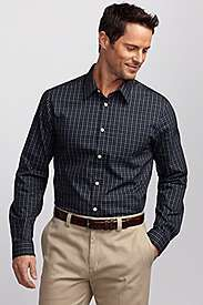 Gifts for Men ~ Dress at our dad's office is business casual and he has found the perfect shirt for work. The Eddie Bauer Wrinkle Free Shirt is his absolute favorite. He wears one every day to work. They really are wrinkle free. Just grab them right out of the dryer, hang them up and they are ready to wear to work. No ironing and no need for the dry cleaner! (Leigh Anne)