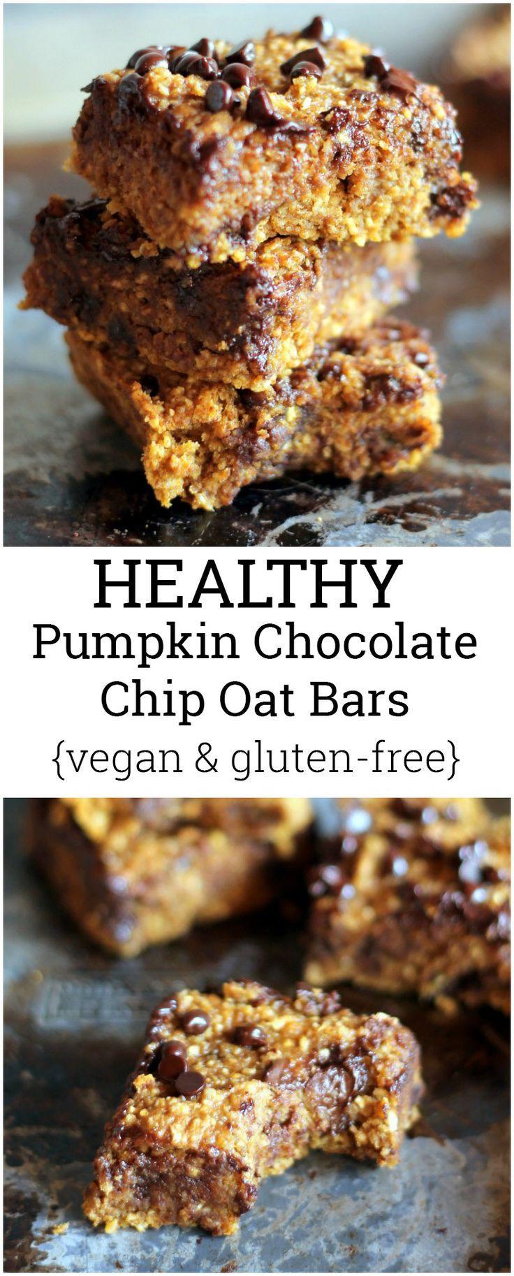 Recipe // Pumpkin + Applesauce + Oats + Baking Powder + Baking Soda + Brown Sugar + Chocolate Chips + Cinnamon + Cloves + Nutmeg + Salt + Vanilla Extract + Coconut Oil