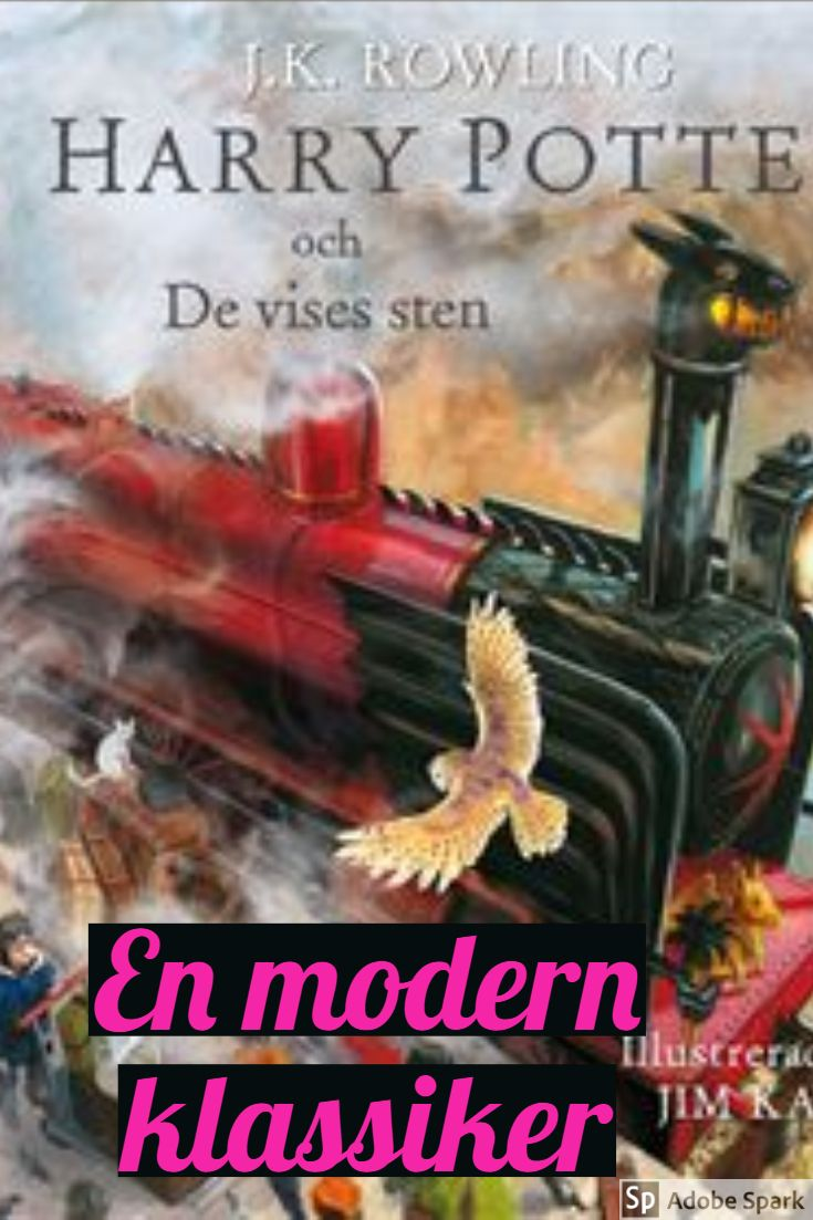 harry potter med illustrationer