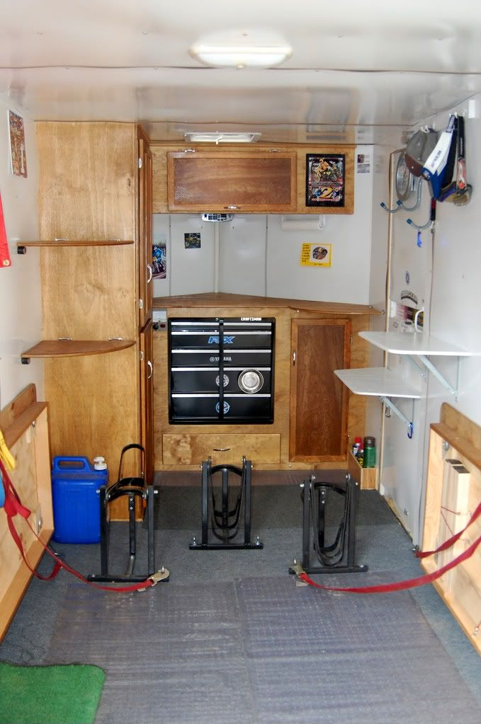 Unique Gallery Images And Information Enclosed Trailer Camper Ideas