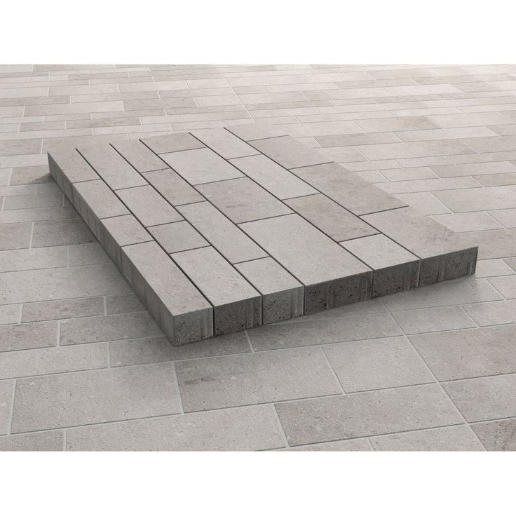 Parchetto-Pflaster Beton Mehrformat Grau-Alpin 7,5 cm
