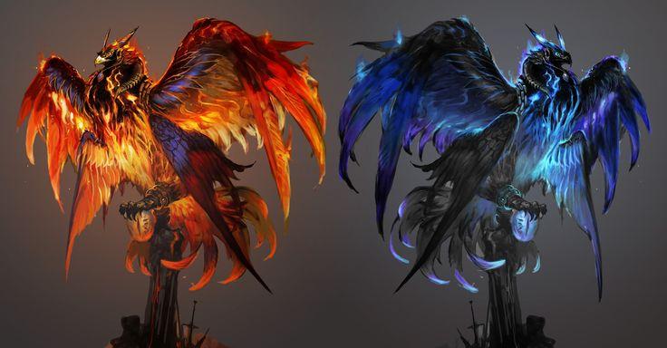 Backer-exclusive mounts – KS Phoenix and Shadow Phoenix