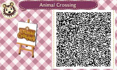 Animal Crossing Flag – Animal Crossing New Leaf QR…