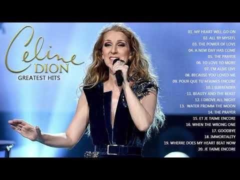 Best Celine Dion Songs || Celine Dion Greatest Hits (NEW 2017) - YouTube