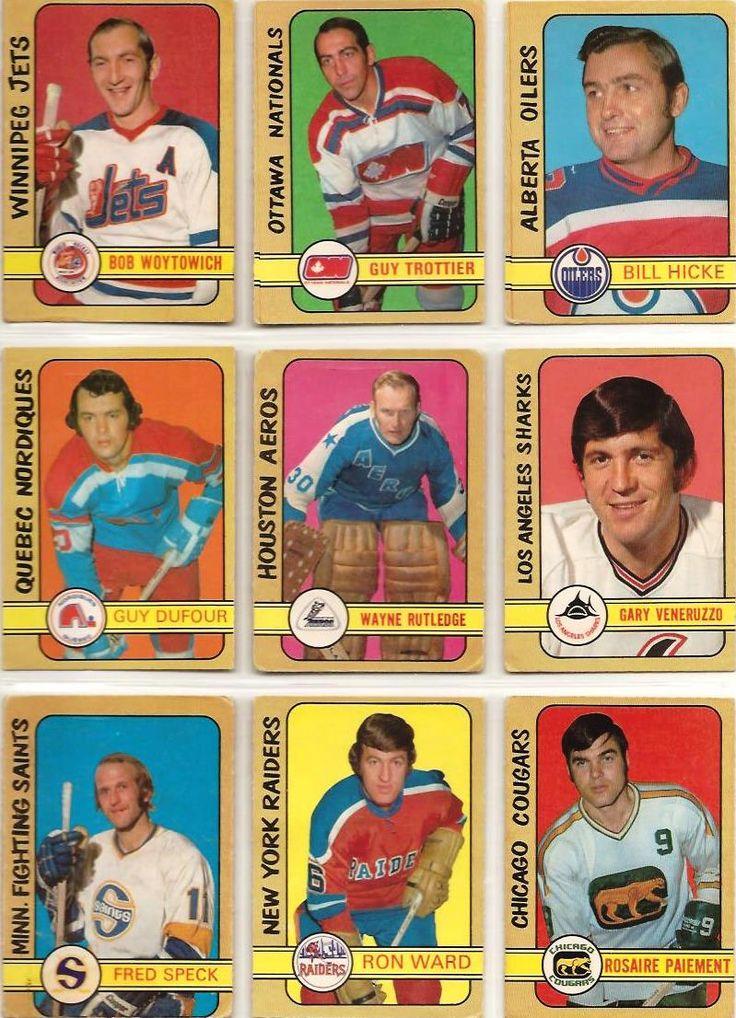 325-333 Bob Woytowich, Guy Trottier, Bill Hicke, Guy DuFour, Wayne Rutledge, Gary Veneruzzo, Fred Speck, Ron Ward, Rosaire Paiement