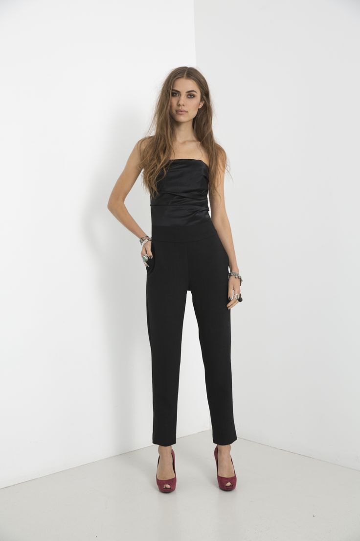 Mercer Jumpsuit - Black