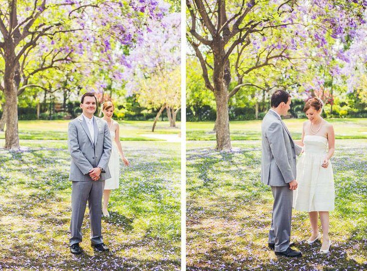Pickwick Gardens Wedding | Stephen Grant Photography | Wedding First Look