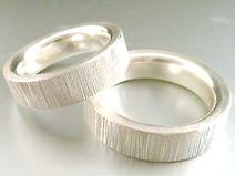 Eheringe aus Silber