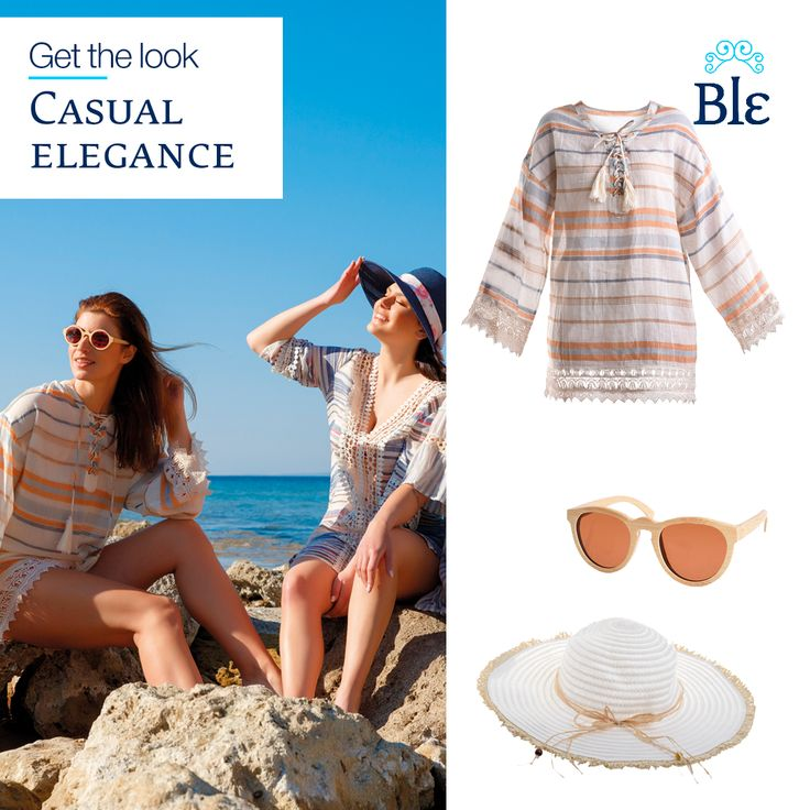 Love casual elegance? Discover our beautifully made collection of kaftans, dresses and tunics, ideal for those long days at the beach relaxing with friends! See more here www.ble-shop.com #MyBleSummer