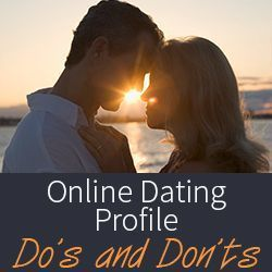 "dos and donts of online dating 1 Ten online dating ""don'ts"" for men 1) don't be lazy an incomplete profile, bad spelling or grammar, trolling the site once a year, or an initial message to a girl that reads, ""i like your."