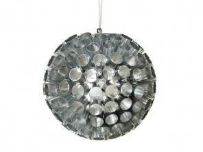 Lampa wisząca LEITMOTIV Rondo srebrna  http://www.citihome.pl/lampa-wiszaca-leitmotiv-rondo-srebrna.html