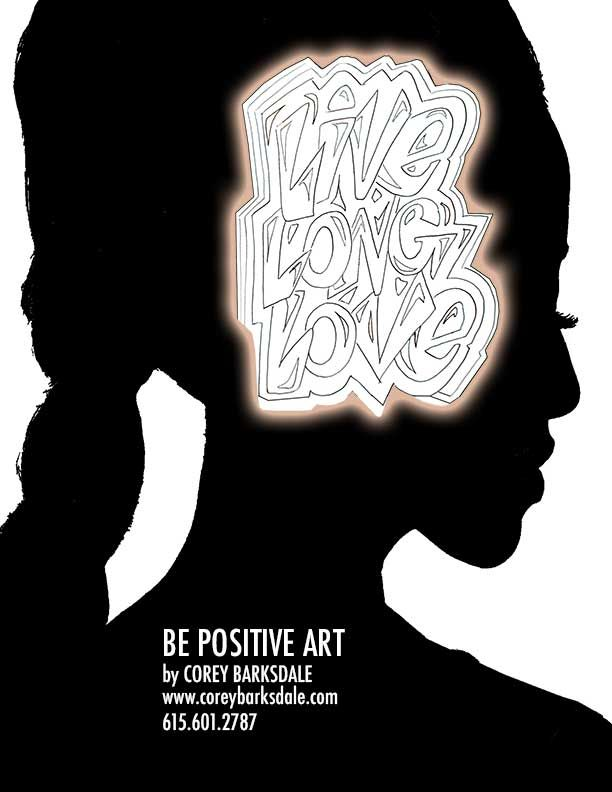 Live Long & Love Positive Affirmation