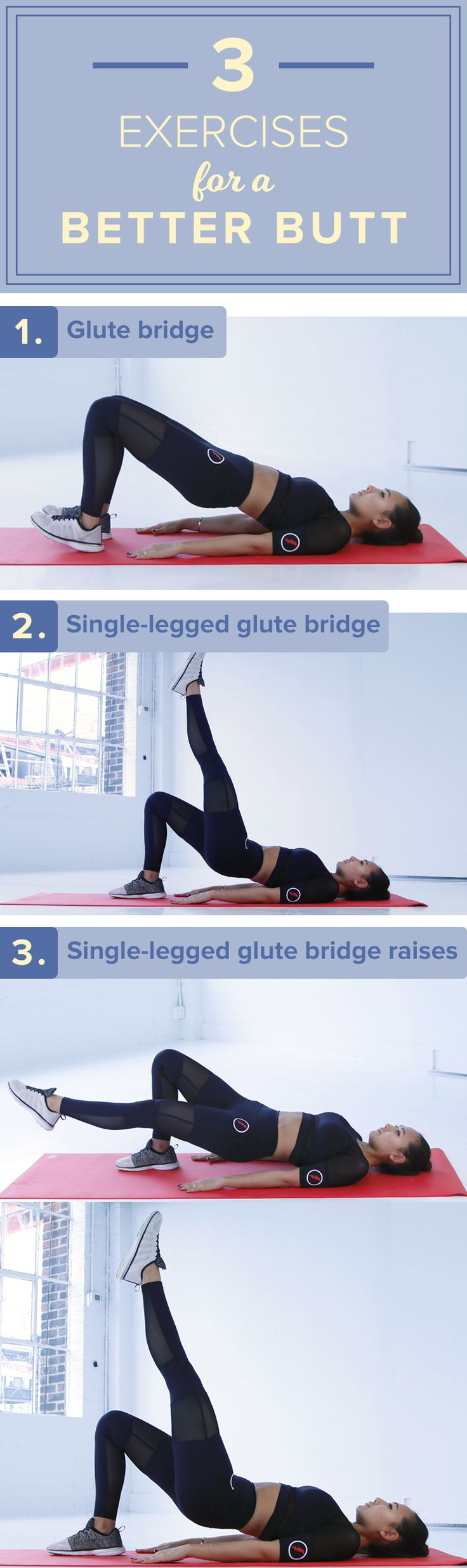 This workout is perfect for beginners. By doing these exercises as part of your fitness routine, it will tone your butt.
