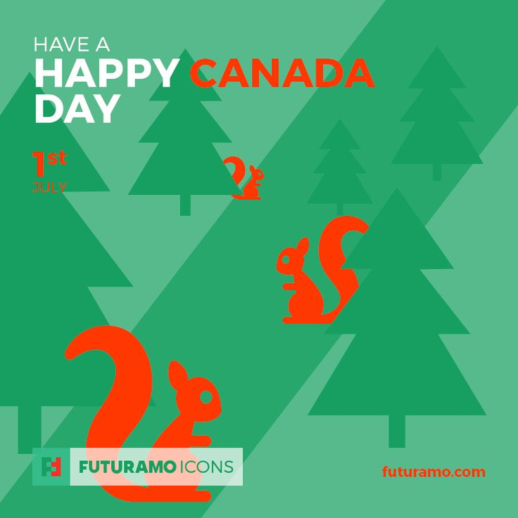 Have a happy Canada Day! Check out our FUTURAMO ICONS – a perfect tool for designers & developers on futuramo.com
