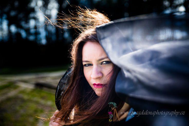Evil goddess - photo portrait