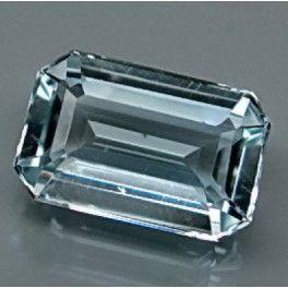 Natural blue Topaz loose gemstone for sale on BuyGems.org