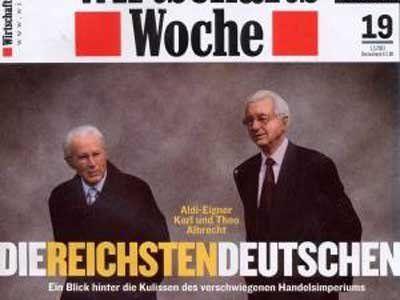 #12 Theo Albrecht, Jr. & family, 19.3 Billion