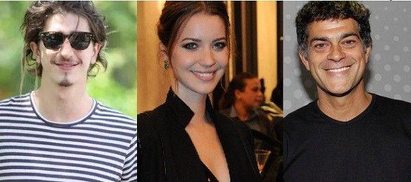 Johnny Massaro, Nathalia Dill e Eduardo Moscovis participam de ciclo de leituras teatrais (Foto: Ag News/Gshow)