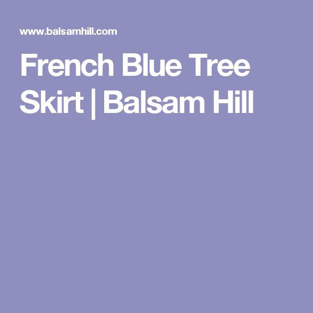 French Blue Tree Skirt | Balsam Hill