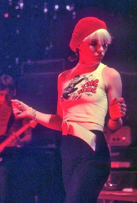 Debbie Harry. She's always had perfect style