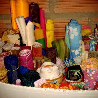 MISS BASURITAS: Organizando telas