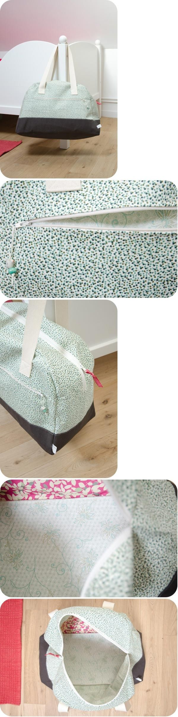 A weekend bag sewing tutorial @ashpeeps... will you make me this? ;)