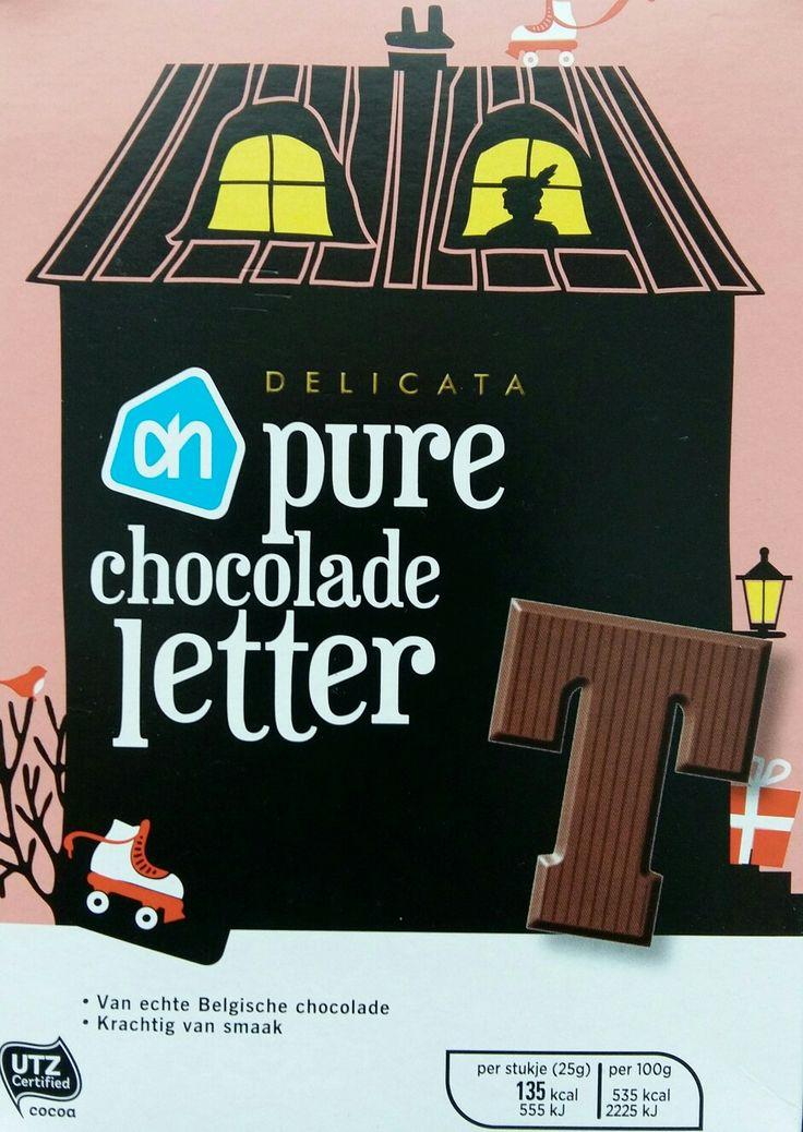 Chocoladeletterdoosje