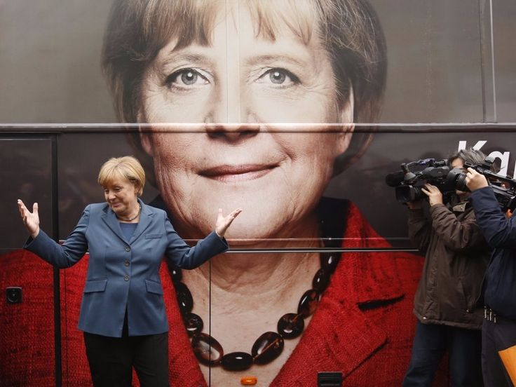 Angela Merkel's incredible rise to a quantum chemist and the world's most powerful woman - The world's most powerful woman earned her Ph.D. in quantum physics, presides over the richest economy in Europe, and was thecentral broker in a massive euro-bailout deal.  In short, when the chips are down, Germany's Chancellor Angela Merkel is the undisputed leader Europeans turn to.  In honor of the Bundeskanzlerin birthday, here's the story of Merkel's rise from humble beginnings under…