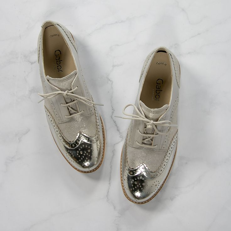 Don't let anyone dull your sparkle --> https://www.omoda.com/women/lace-ups/gabor/beige-gabor-lace-ups-558-63670.html/?utm_source=pinterest&utm_medium=referral&utm_campaign=shoes&s2m_channel=903