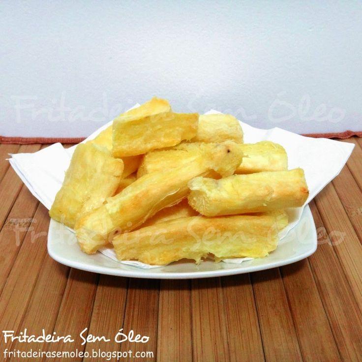 Mandioca / Aipim Frito na AirFryer | Fritadeira sem Óleo - AirFryer