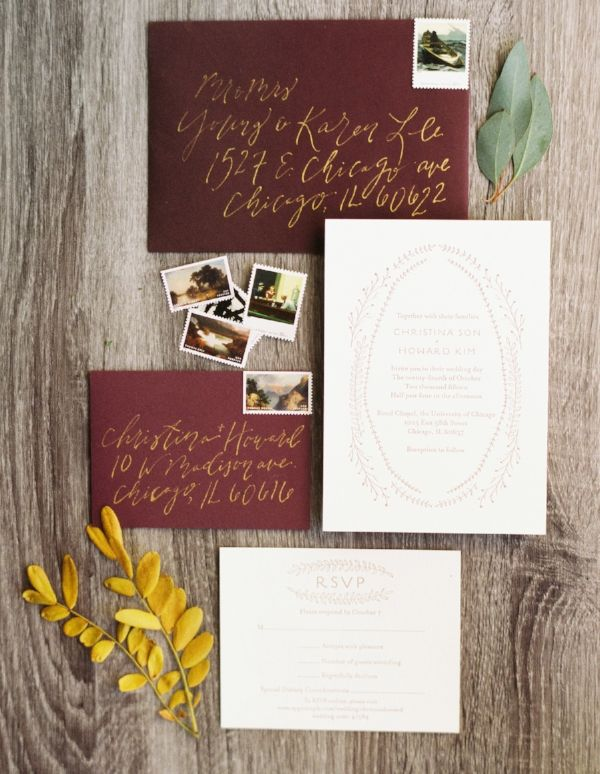 179 best Deep Red Fall Wedding images on Pinterest Marriage