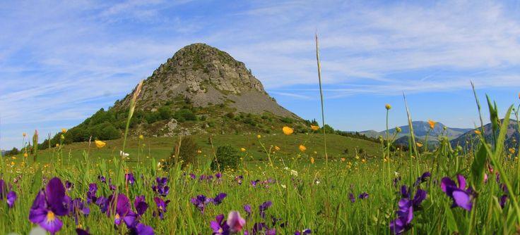 Le Mont Gerbier de Jonc en Ardèche